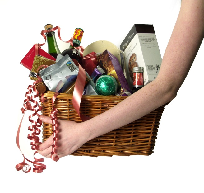 You choose what goes into your Christmas Hamper
