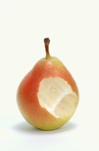 Don't eat all the pears first...