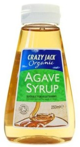 Agave syrup - good on pancakes too