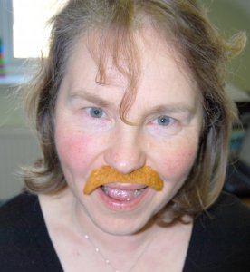 Lesley supports Movember