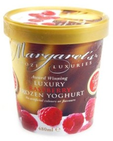Award winning luxury frozen yoghurt