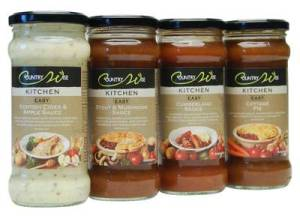 Countrywise sauces inspired by classic British dishes