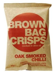 Brown Bag Crisps - the flavour sings out