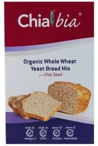 A bread mix with chia seed