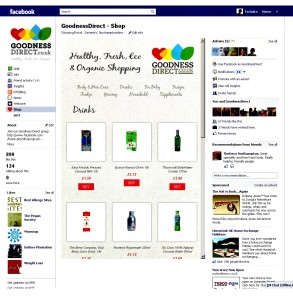 Facebook shop - GoodnessDirect