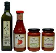 Mr Organic ketchup tastes particularly fantastic