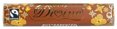 Divine Butterscotch - A Heavenly Chocolate with a heart
