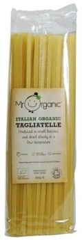 Mr Organic's pasta