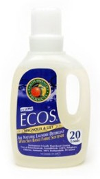The award winning ECOS 2-in-1 laundry detergent