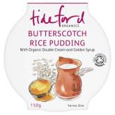 Tideford Organics Butterscotch Rice Pudding