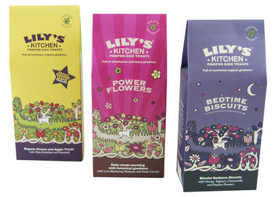 Lily's Kitchen pet treats