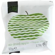 Air dried apple crisps