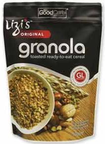 Lizi's low GL granola