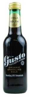 Gusto's organic kola with guarana