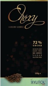 Choxy luxury xylitol chocolate