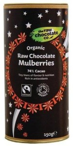 Fancy giving away some chocolate covered mulberries?