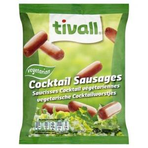Tivall vegetarian sausages