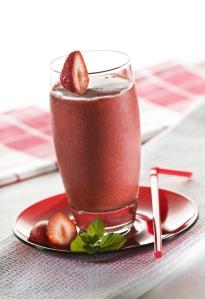 strawberry cacao smoothie