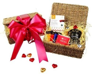 Valentine's Chocolate Hamper